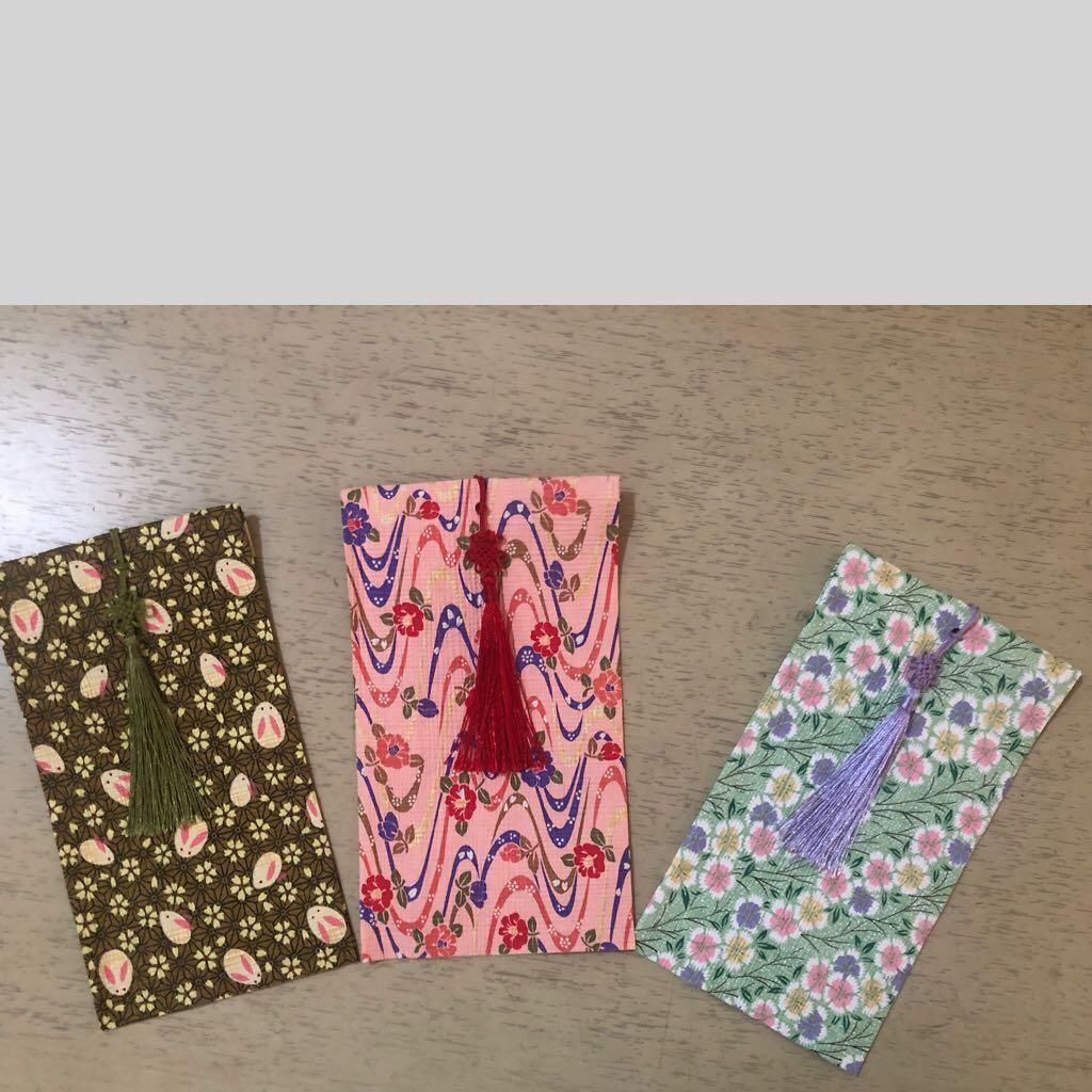 Money envelope handmade Jepang (set of 3)