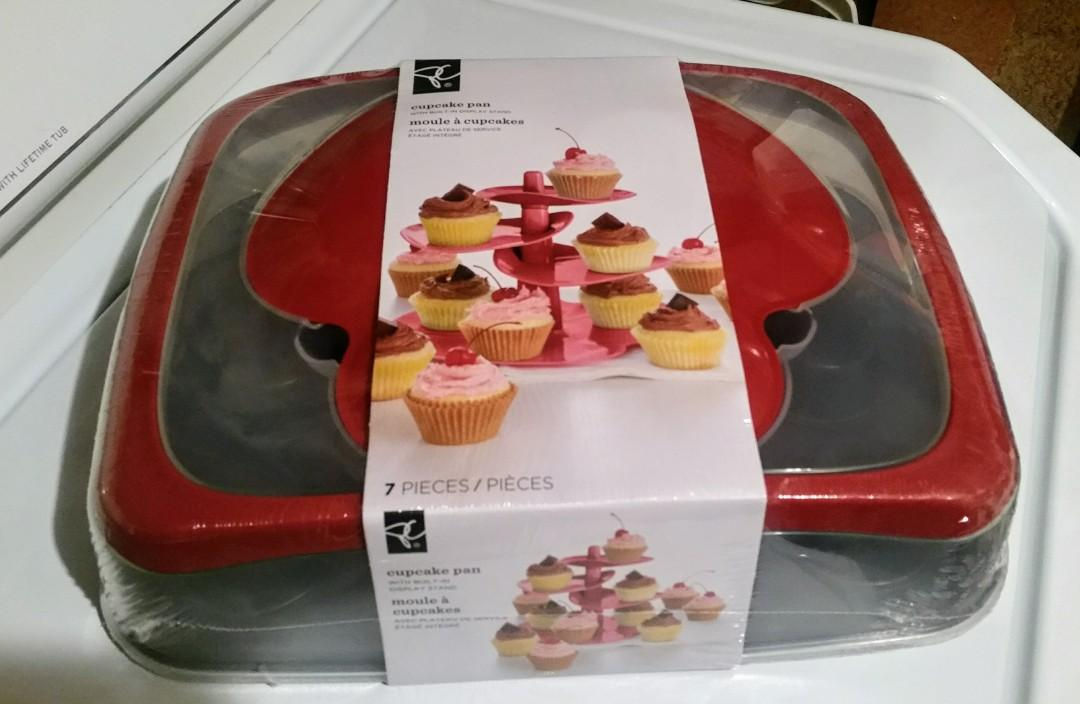 NEW 3 IN 1 Cupcake tray, caddy, display