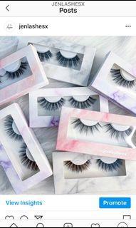 NEW false lashes