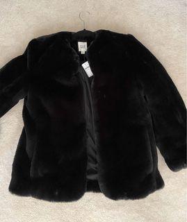 *NEW* Gap fur jacket sz xs