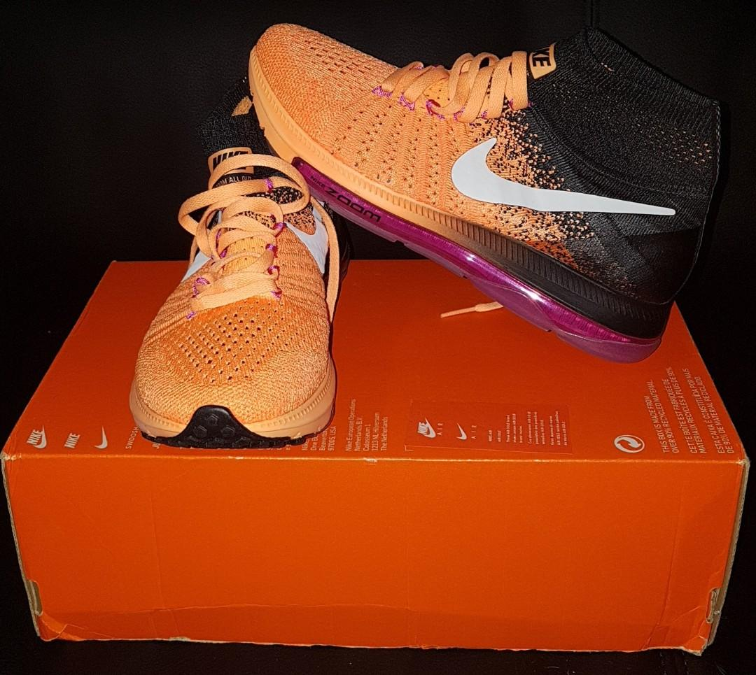 Nike Zoom All Out Flyknit - Womens (Size: 6)