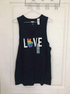 Old Navy Pride Love Tank Top Size Small