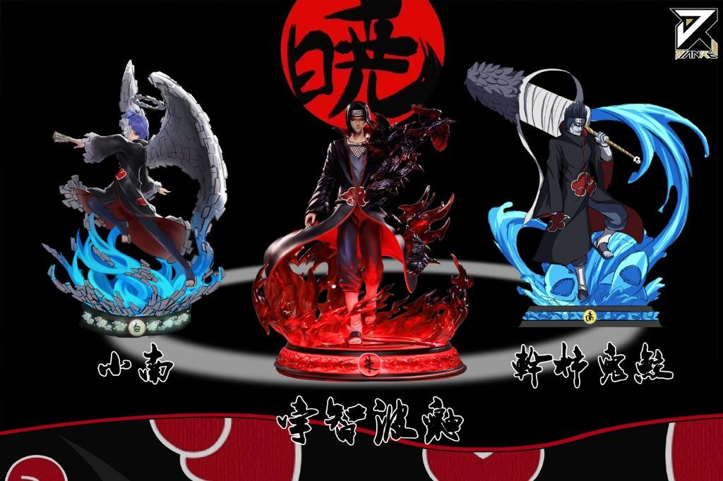 Pre Order Naruto Itachi Uchiha Akatsuki Series 1 Figure Statue Toys Games Action Figures Collectibles On Carousell