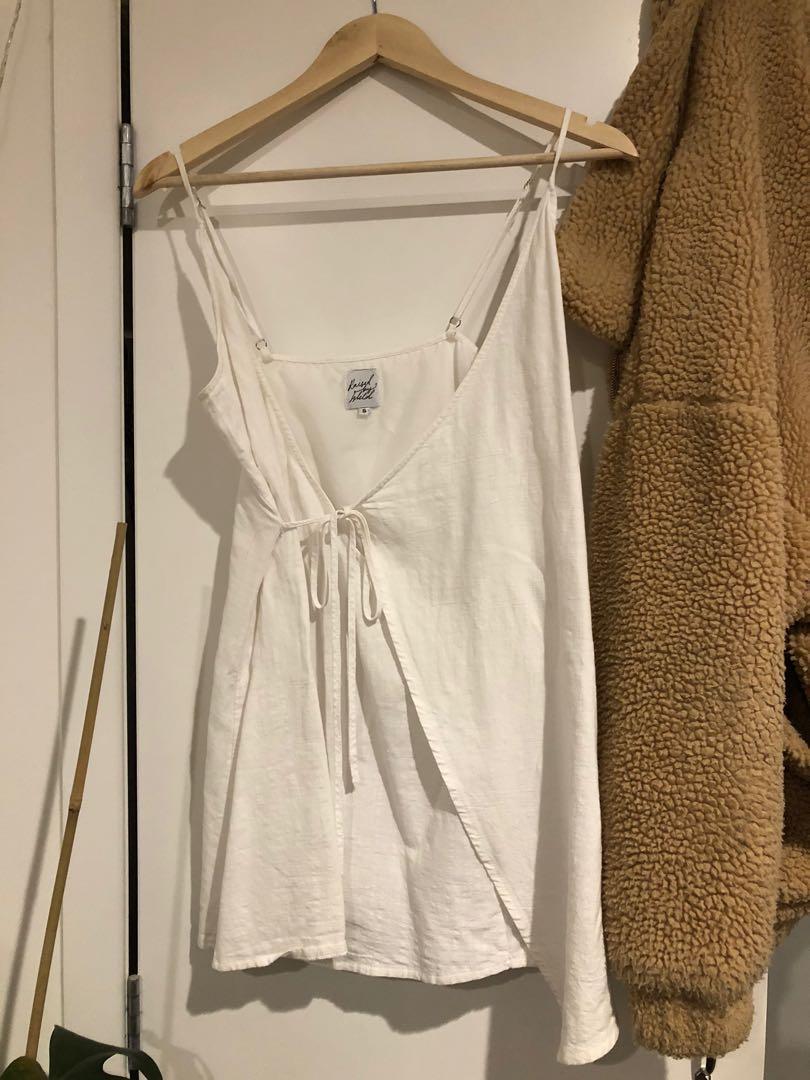 Princess poly wrap dress