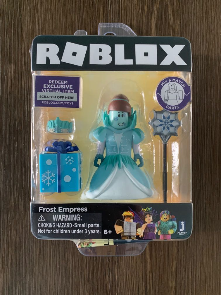Instocks Roblox Figurines Roblox Frost Empress Toy Toys Games Bricks Figurines On Carousell