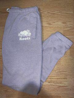 Roots pastel purple sweatpants (M)