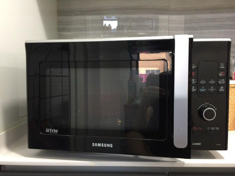 Samsung Trio Convection Grill Microwave Smart Oven Home