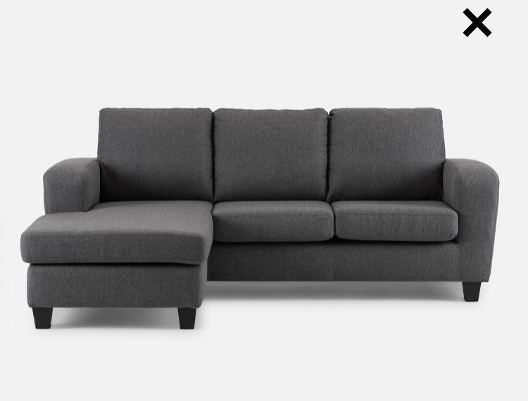 Structube Sectional (l-shaped) couch - EXCELLENT CONDITION