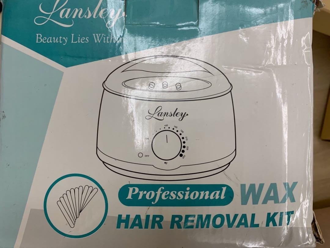 Wax Heater Lansley Hair Removal Home Waxing Kit For Women Men