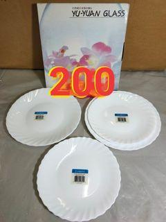 日本YU-YUAN HARMONIA 4件雙人骨瓷餐盤組*