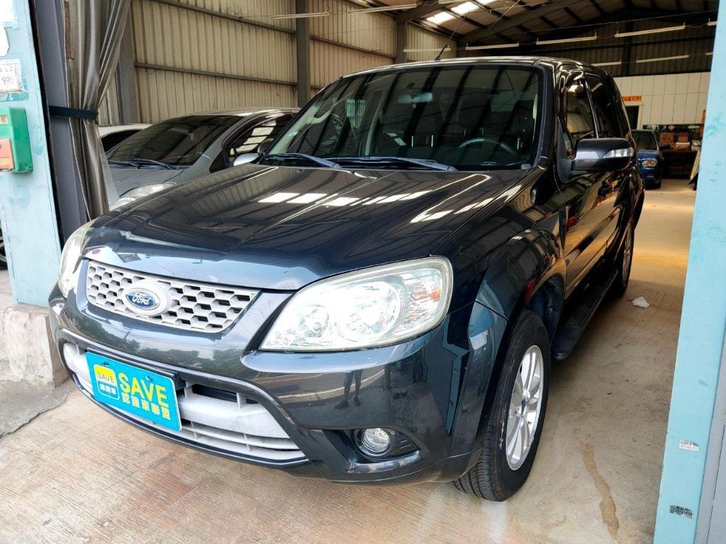 上山下海的好夥伴 2011年福特ESCAPE 2.3 超低里程 歡迎洽詢0932171411 LINEID:0932171411