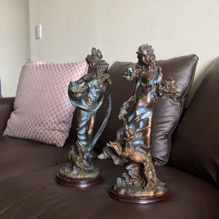家飾 居家擺件 裝飾 古董 雕塑 雕像 工藝品 #newstart