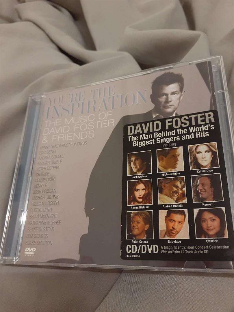 優質逸品 完美無刮!大衛佛斯特與好友們的音樂饗宴 David Foster CD+DVD