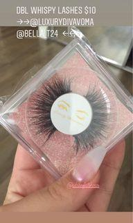 Brand new lashes, whispy mink style. Lengthy.