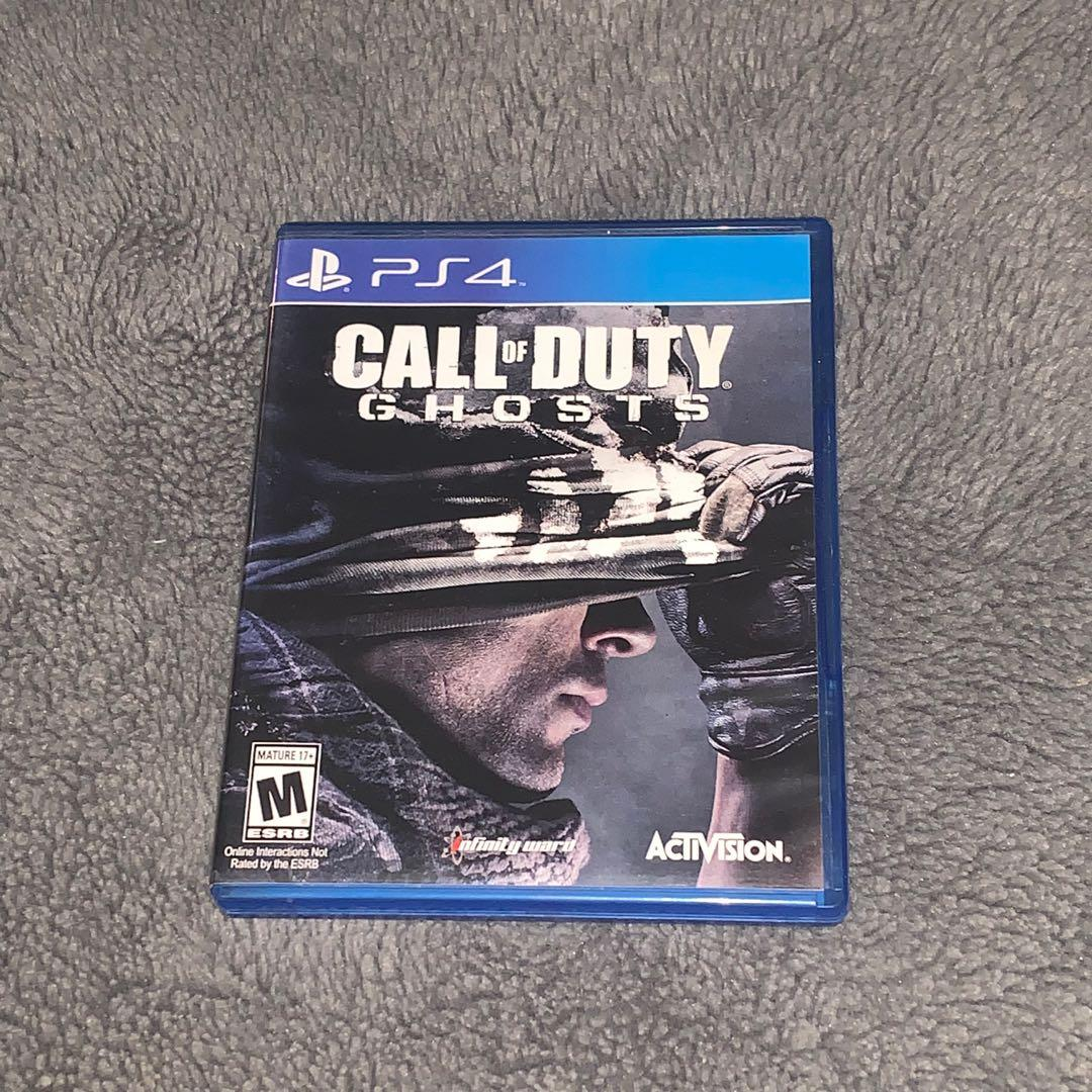 Call Of Duty Ghosts, PS4