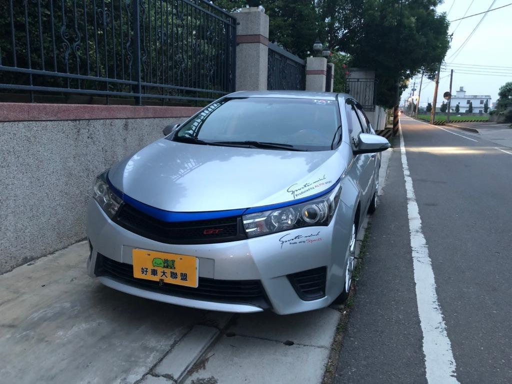 FB搜尋【世康中古車買賣】《熱門車款》2014年 豐田  ALTIS