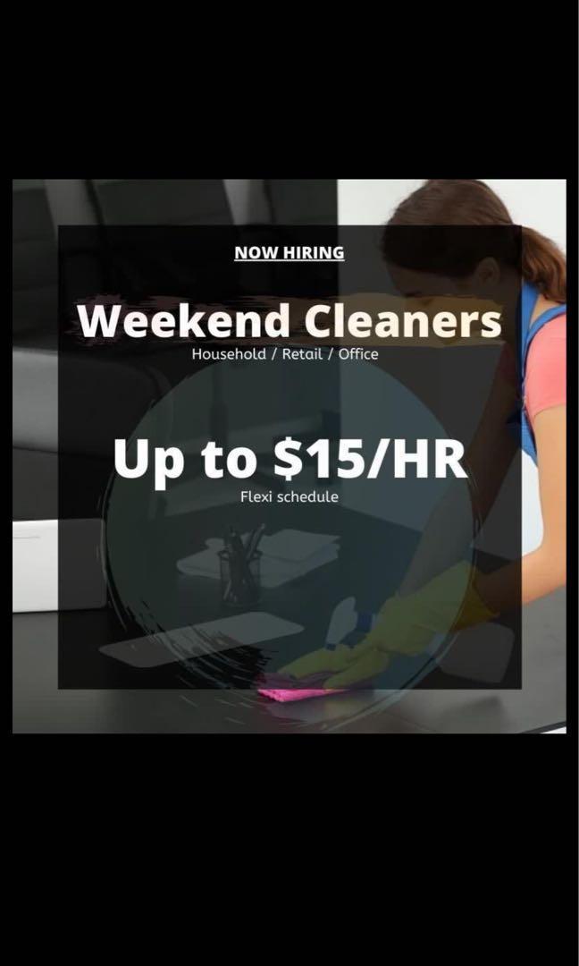 FLEXI WEEKDAY/WEEKEND CLEANERS