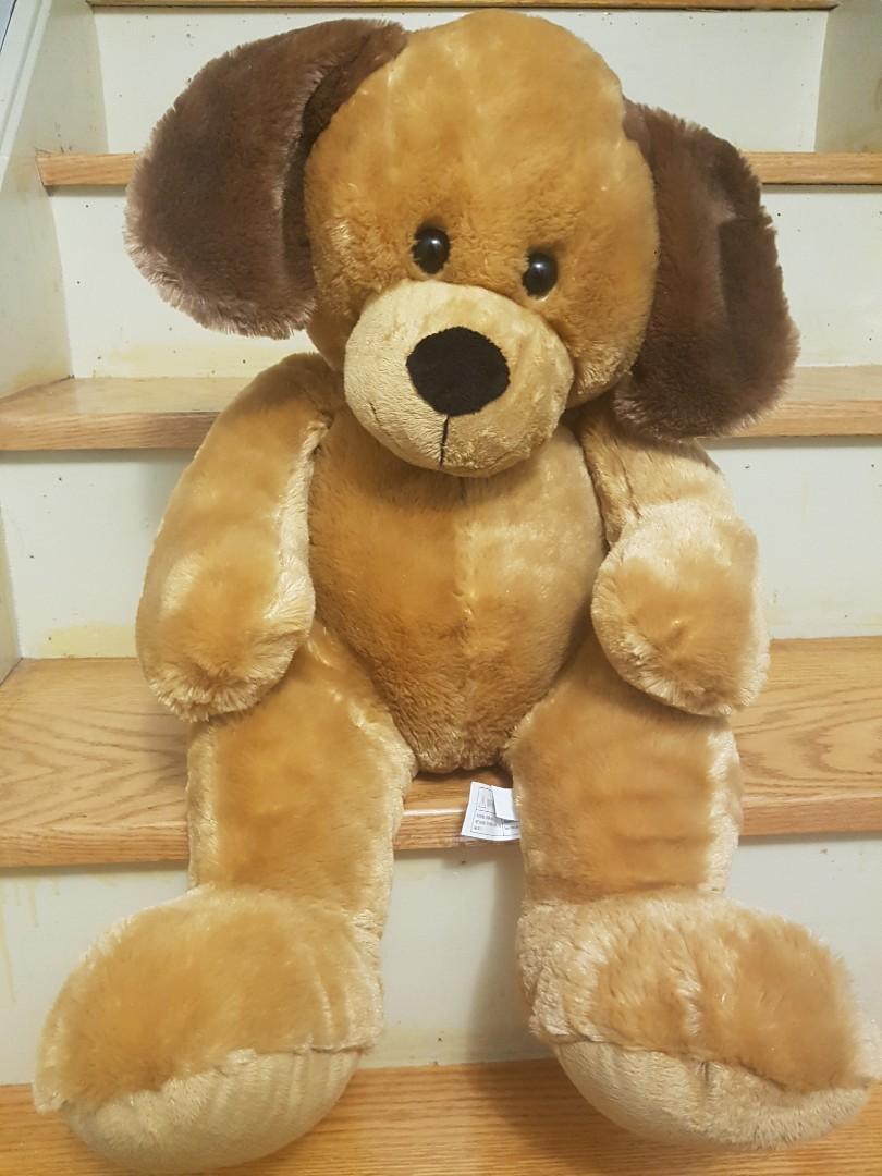 Giant Stuffed Dog