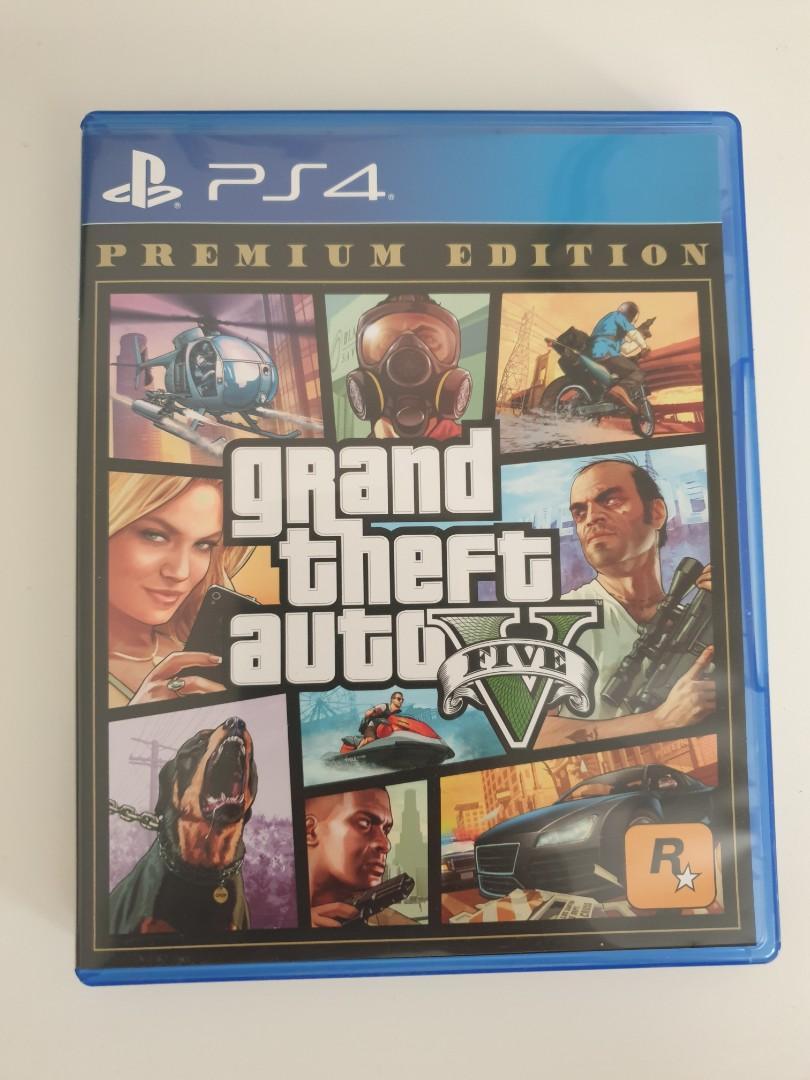 GTA 5 , Grand Theft Auto V ,Kaset PS 4