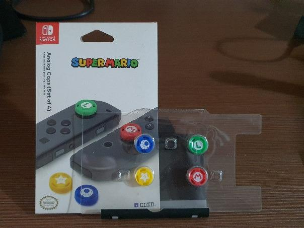 Hori Nintendo Switch Super Mario Joystick Analog Caps
