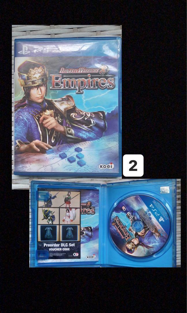Kaset PS4 - Dynasty Warrior 8 Empires
