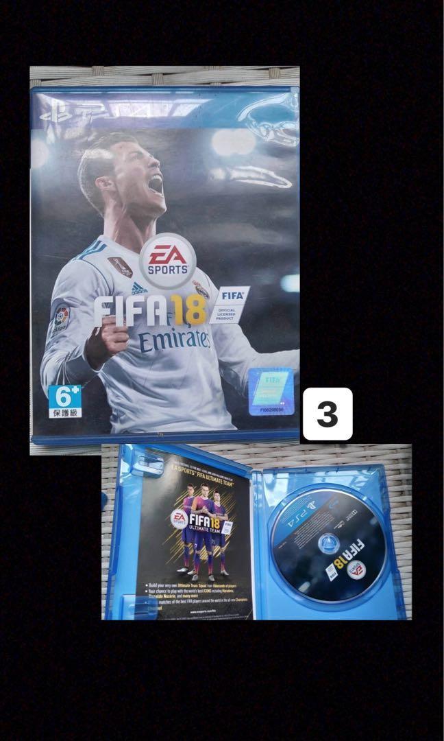 Kaset PS4 - FIFA18