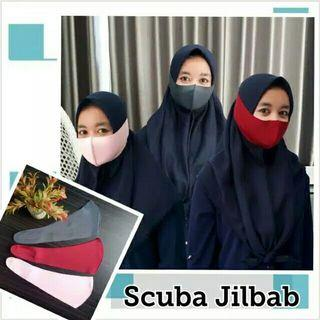 masker khusus untuk hijab yaa