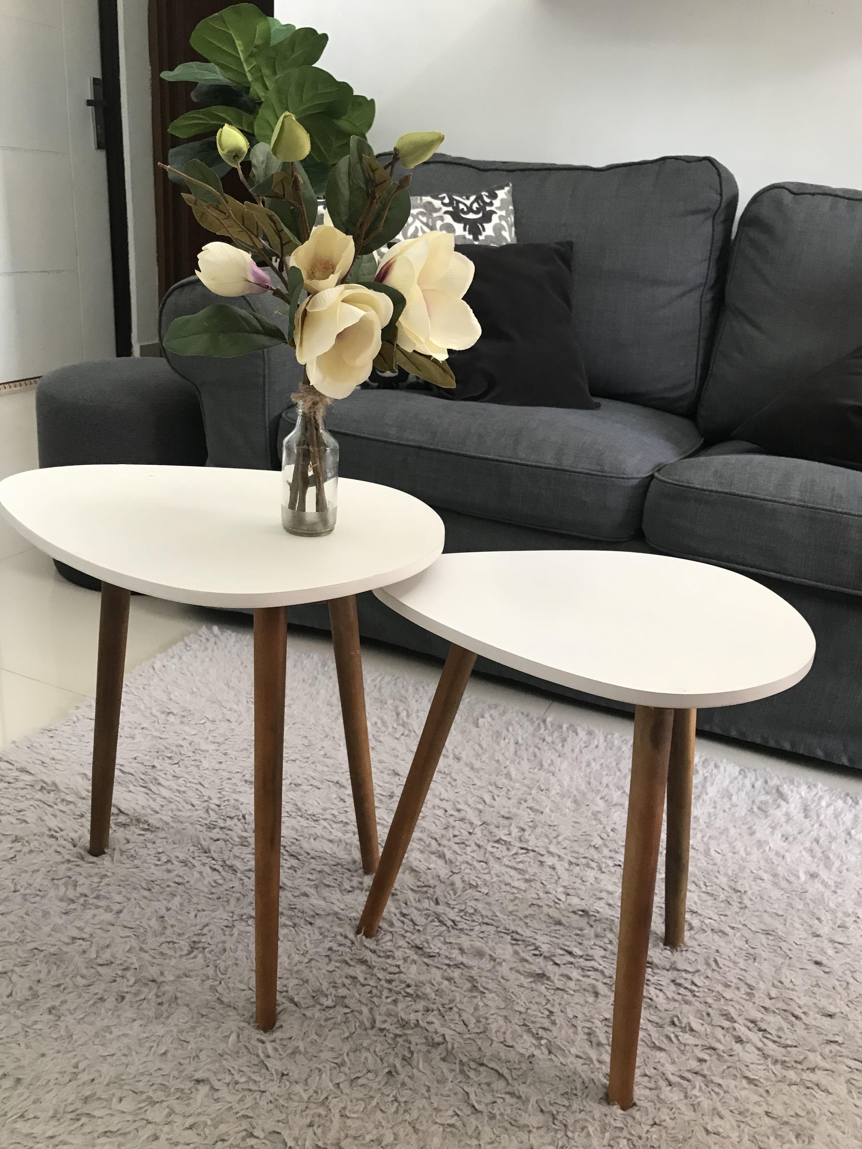 Meja Bukan Ikea Table Ruang Tamu Samping Perabotan Rumah Di Carousell