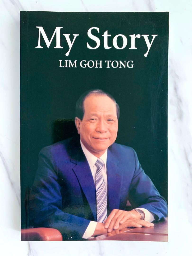 My Story Lim Goh Tong Books Stationery Non Fiction On Carousell