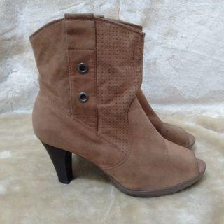 Peep-Toe Boots