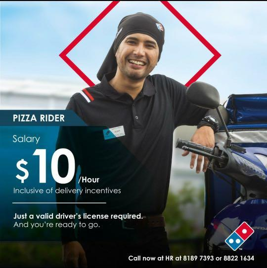 PT RIDERS AND PIZZA RUNNERS