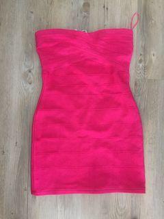 Size 4 bandage mini dress