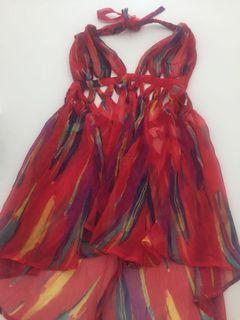 Small see through summer dress