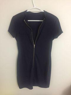 Small Zipper mini dress