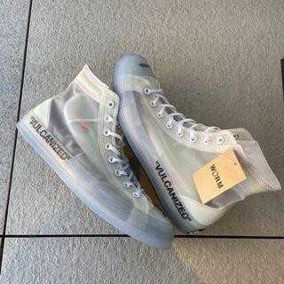 US 12 Vulcanized Off-White Converse  Chuck Taylor  All-Star