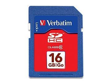 Verbatim 16GB SD Card