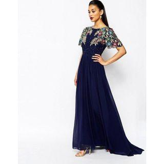 """VIRGOS LOUNGE """"Ariann"""" embellished maxi gown"""