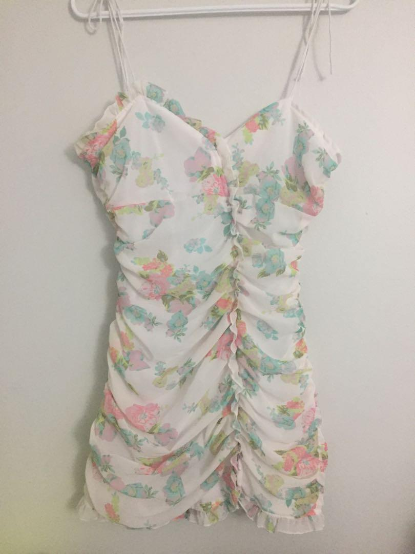 Xsmall floral dress