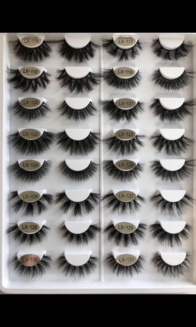 100% real mink lashes