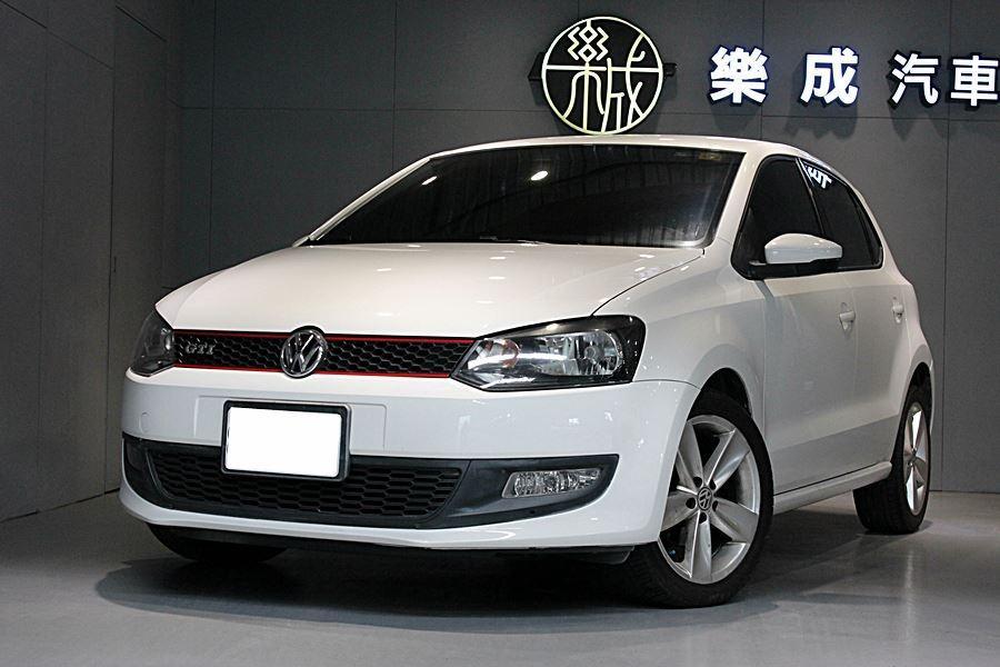 2012年 VW Polo 1.4汽油 一手原鈑件,僅僅跑8萬! 整台綿綿,車況極好!