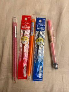 隨便賣 螢光筆 蠟筆 替換筆芯 無印良品
