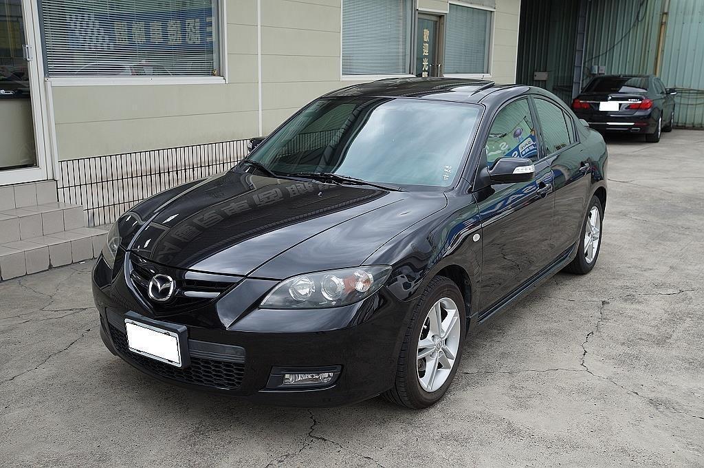 舜天車坊 Mazda 3 2007款 ⼿⾃排 2.0L 頂級S版 天窗+⼿⾃排+恆溫 保證實⾞實價!!!