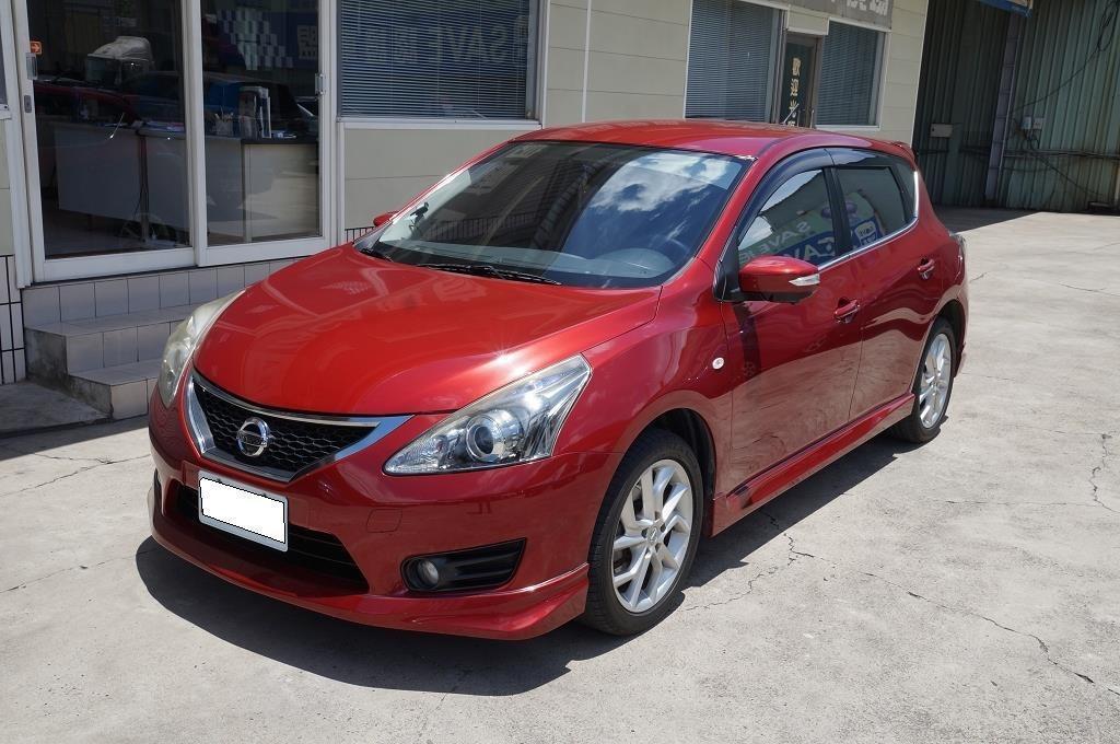 舜天車坊 Nissan Tiida 2013款 SV規 免鑰匙+多功能影⾳+恆溫 僅跑7萬KM 實⾞實價