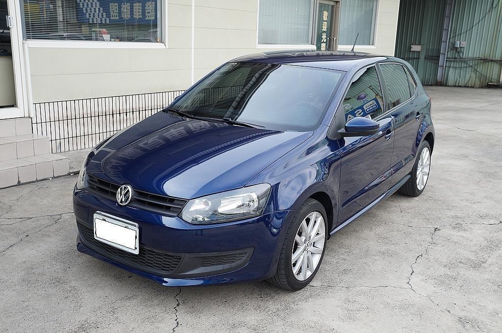 舜天車坊 Volkswagen Polo 2012款 1.4L 僅跑50000多KM 原廠保養+多功能影⾳+⼿⾃排!!!