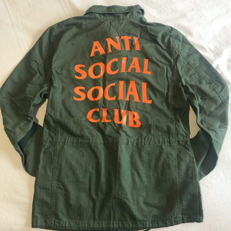 Anti Social Social Club x Alpha Industries Jacket