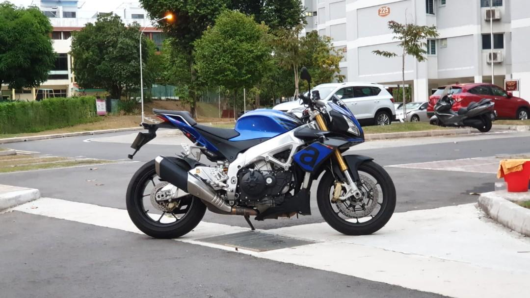 Aprilia Tuono V4 1100 Rr Motorcycles Motorcycles For Sale Class 2 On Carousell