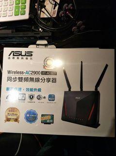 Asus同步雙頻無線分享器