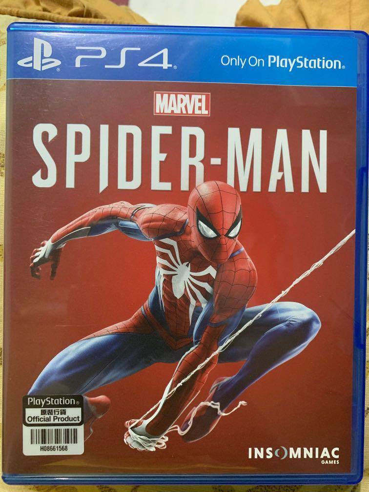 BD Kaset PS4 - Spider Man