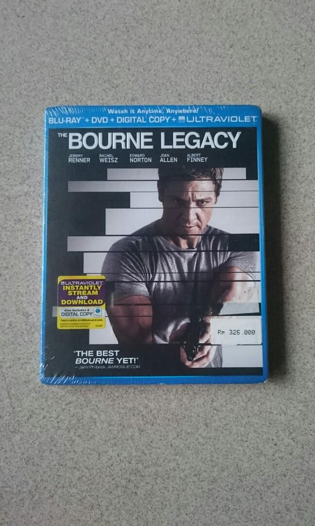 Bluray The Bourne Legacy.
