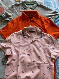 Bundle of signature polo shirts